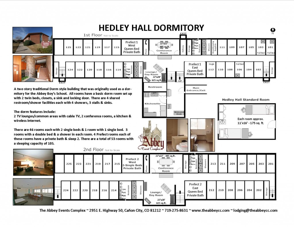 Hedley Hall Floor Plan